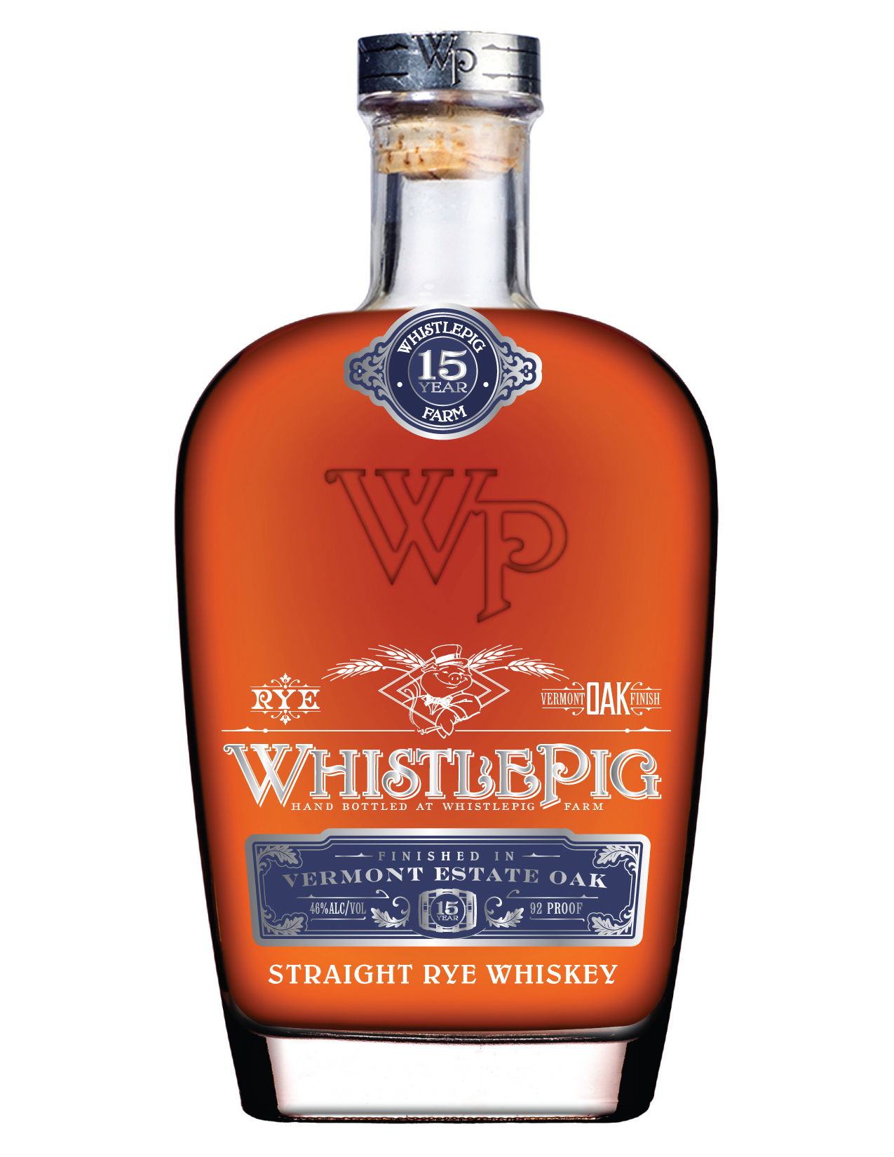 WhistlePig Straight Rye Whiskey 15 Years Old 2016