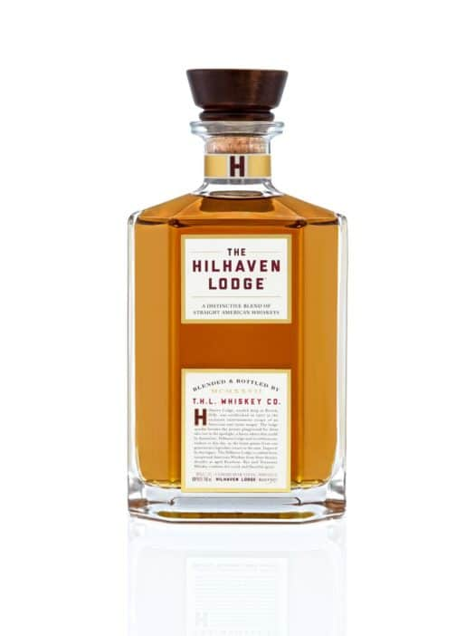 Hilhaven Lodge whiskey bottle shot