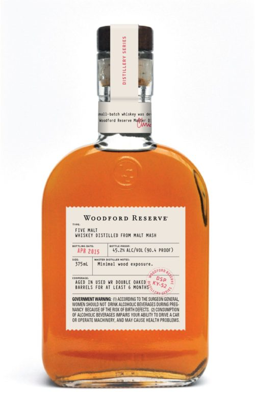 woodford reserve Five Malt Bottle Shot