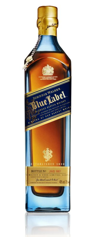 Johnnie Walker Blue Label Bottle