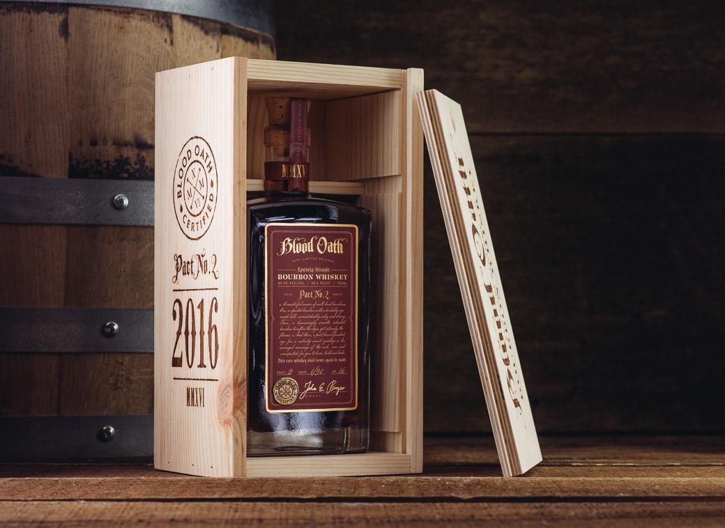 Blood Oath Bourbon Whiskey Pact No. 2 2016