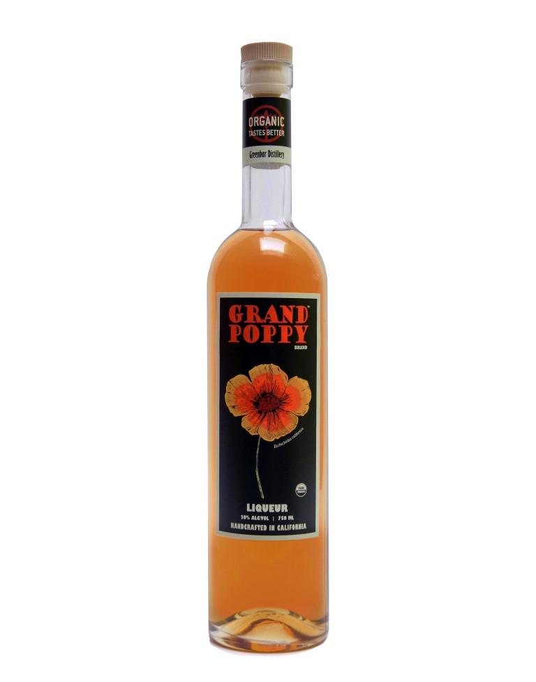 Greenbar Grand Poppy Liqueur
