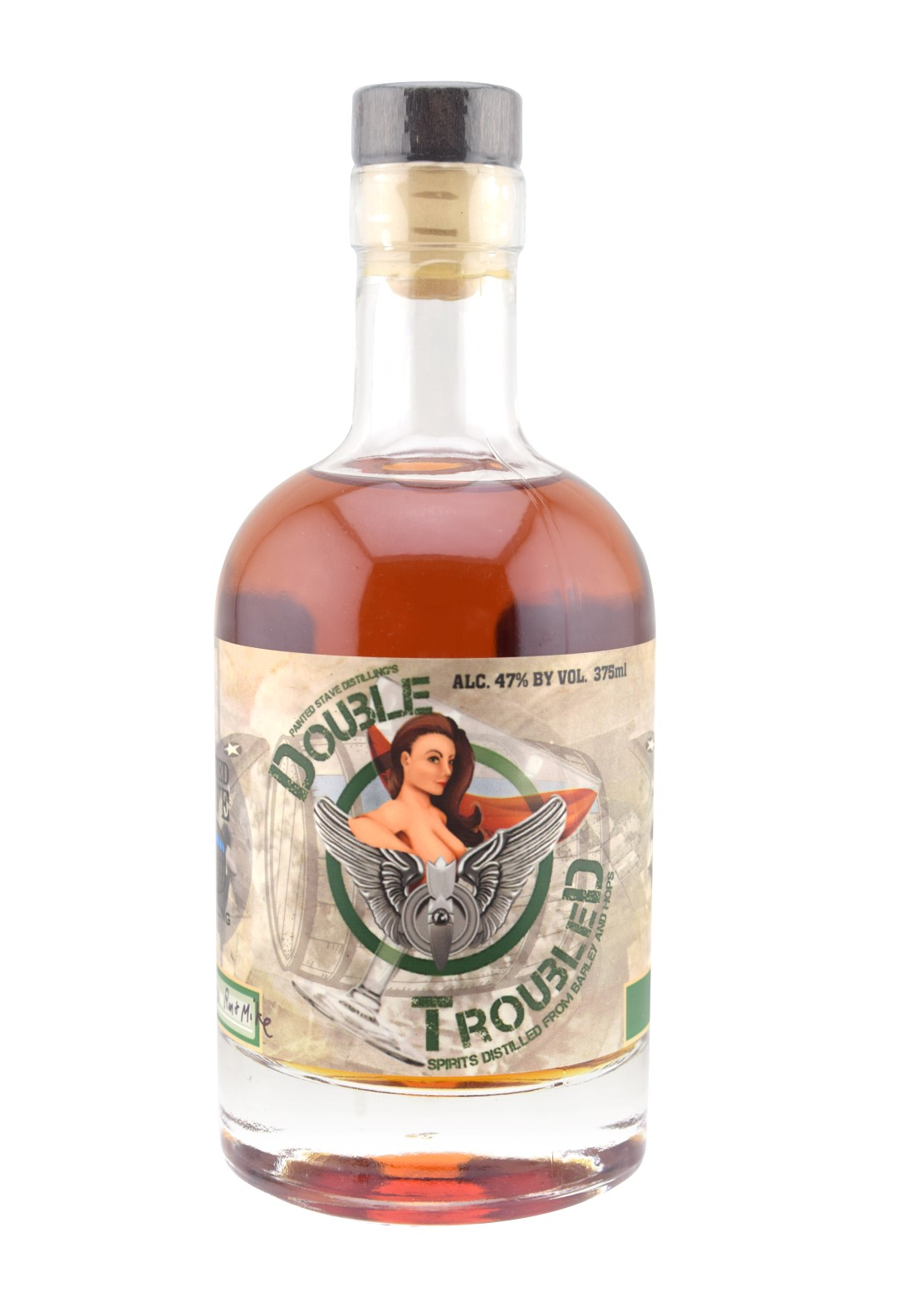 Painted Stave Distilling Double TroubleD
