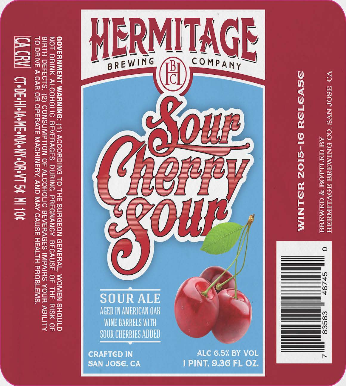 Hermitage Brewing Company Sour Cherry Sour Ale