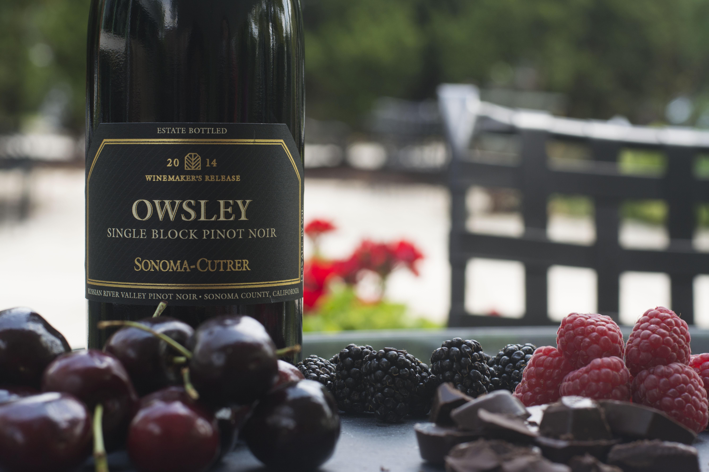 2014 Owsley Single Block Pinot Noir