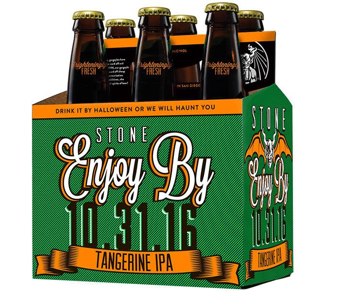 Stone Enjoy By 10.31.16 Tangerine IPA