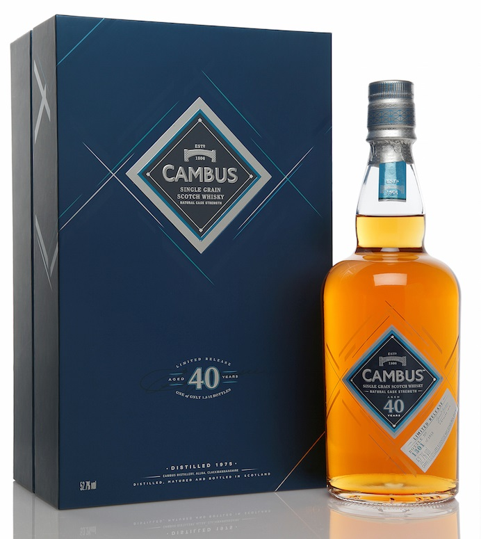 Cambus 40 Years Old Limited Edition 2016