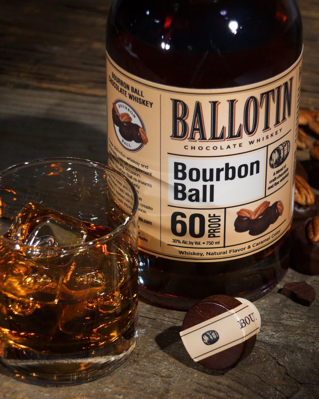 Ballotin Bourbon BallWhiskey