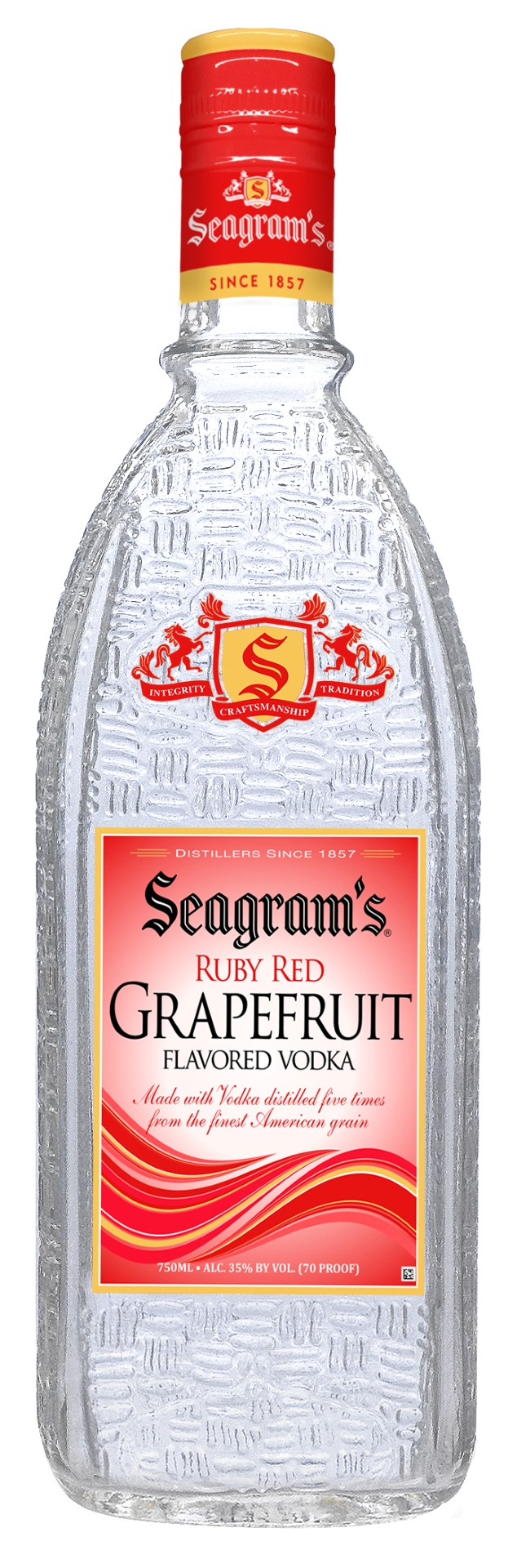 Seagram's Ruby Red Grapefruit Flavored Vodka