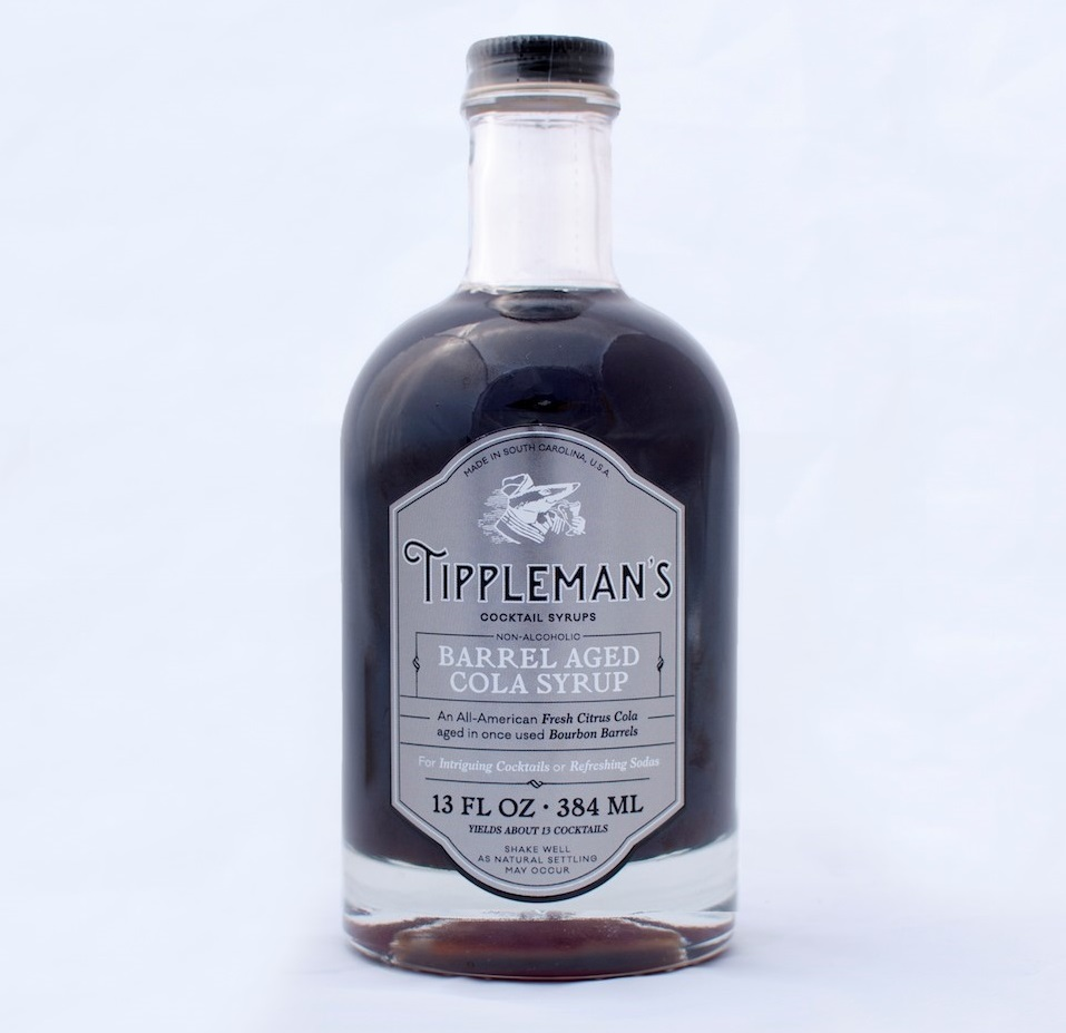 Tippleman's Barrel Aged Cola Syrup