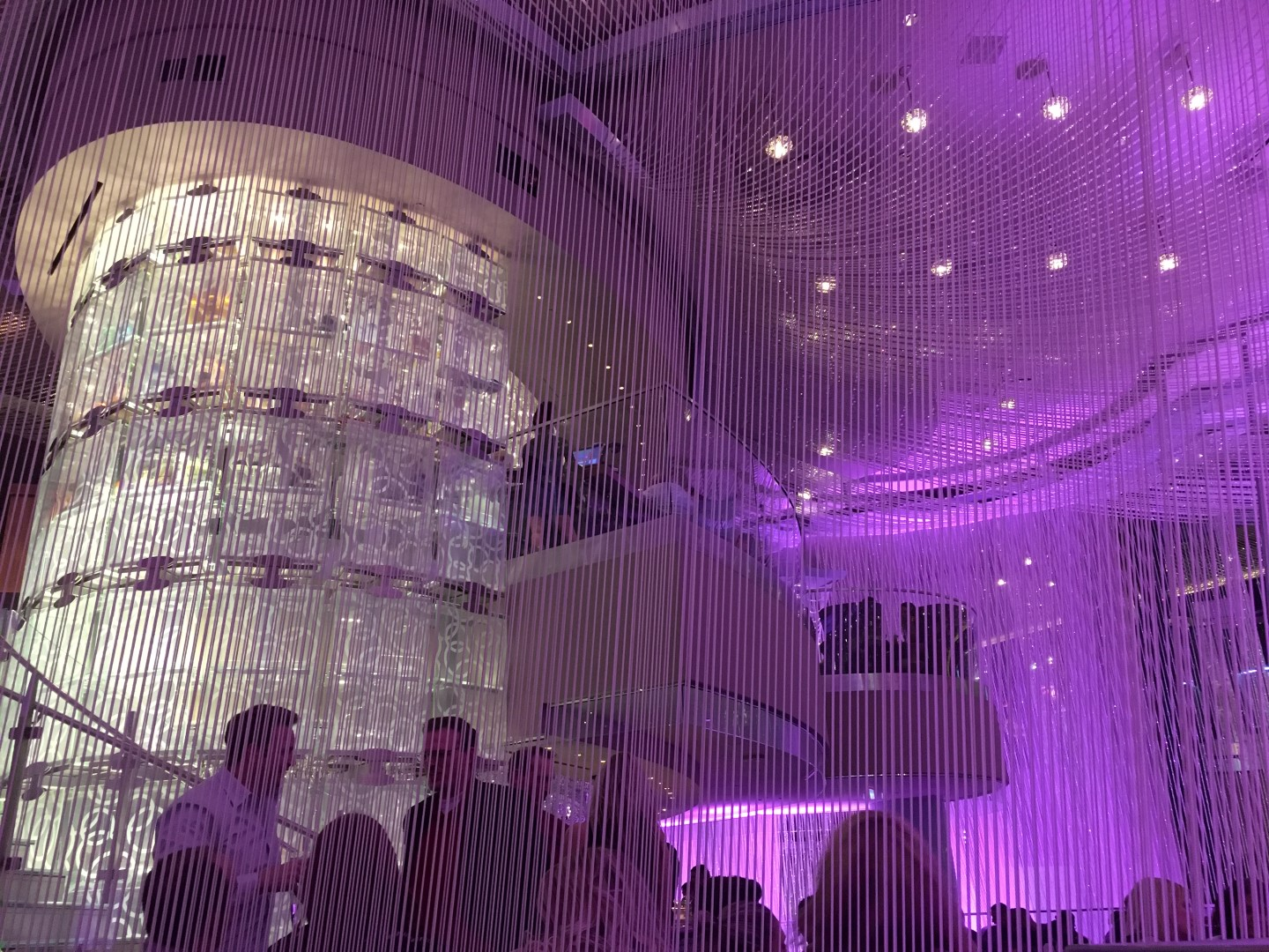 Bar review the chandelier lounge at the cosmopolitan las vegas las vegas has no shortage of high end drinking establishments but stepping inside of a three story tall chandelier to get your drink on arubaitofo Image collections