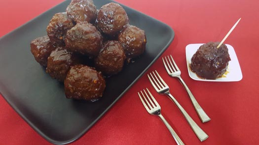 Whiskey Barbecue Meatballs