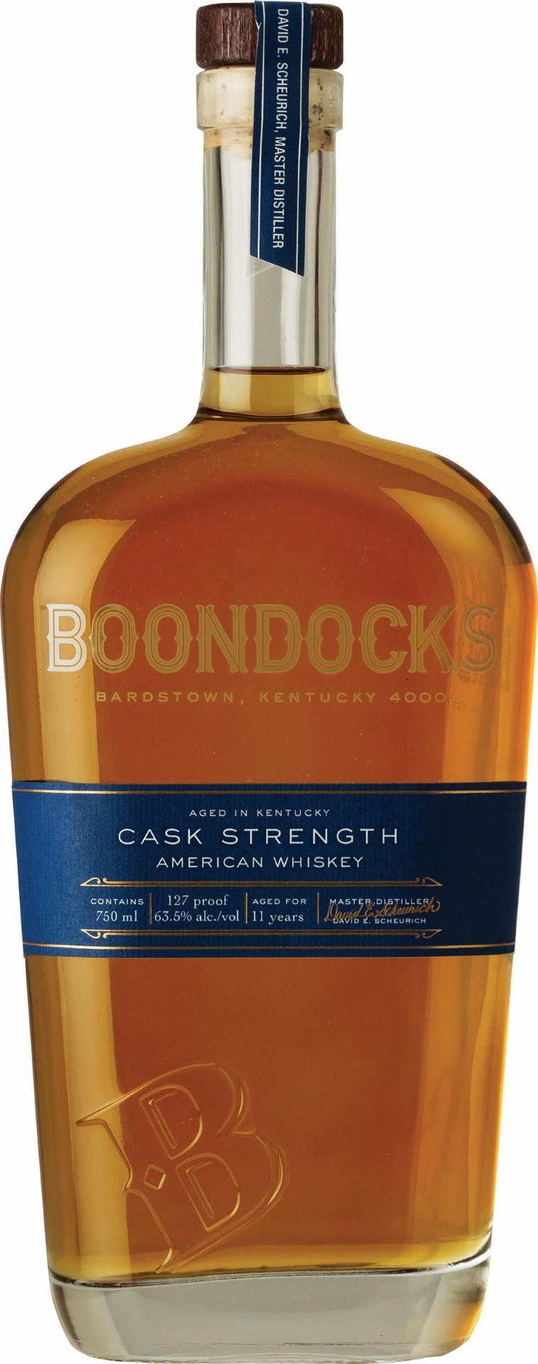Boondocks Cask Strength American Whiskey