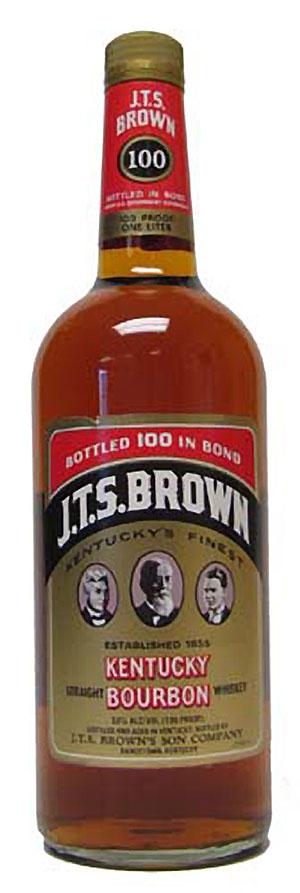 J.T.S. Brown Bottled in Bond Bourbon