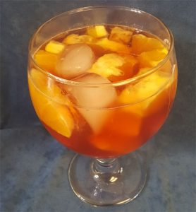 Q Winter Citrus Sangria