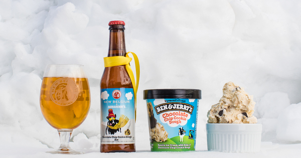 New Belgium Ben & Jerry's Chocolate Chip Cookie Dough Ale