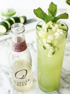 Q Cucumber Apple Mule