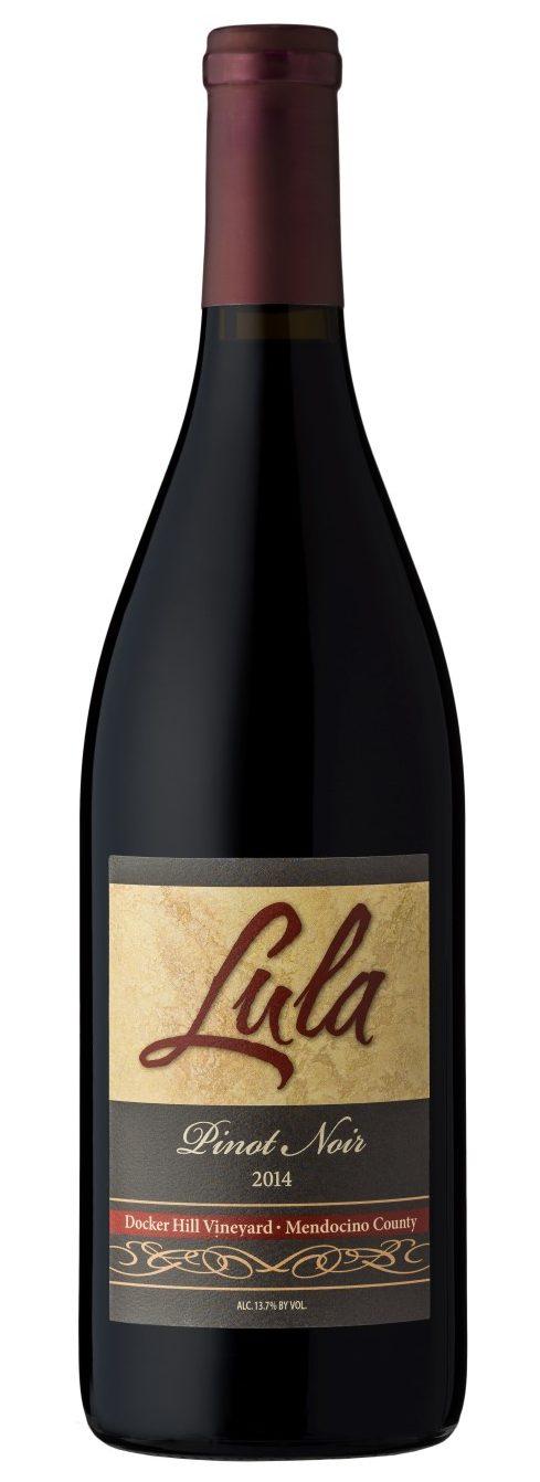 2014 Lula Cellars Pinot Noir Docker Hill Vineyard Mendocino