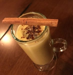 Hot buttered cachaca