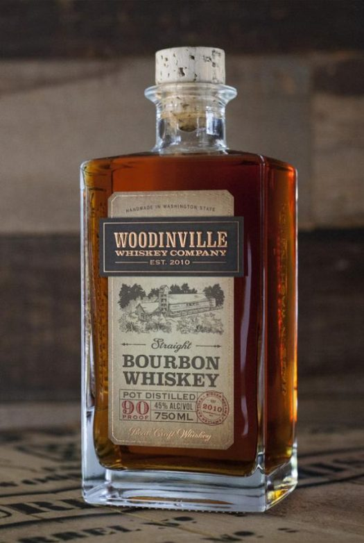 Woodinville Whiskey Company Straight Bourbon Whiskey