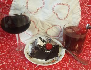 Apothic Dark Cake