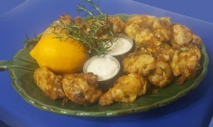 Meyer Lemon and Rosemary Wings