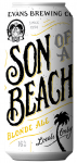 Evans Brewing Co. Son of a Beach Blonde Ale
