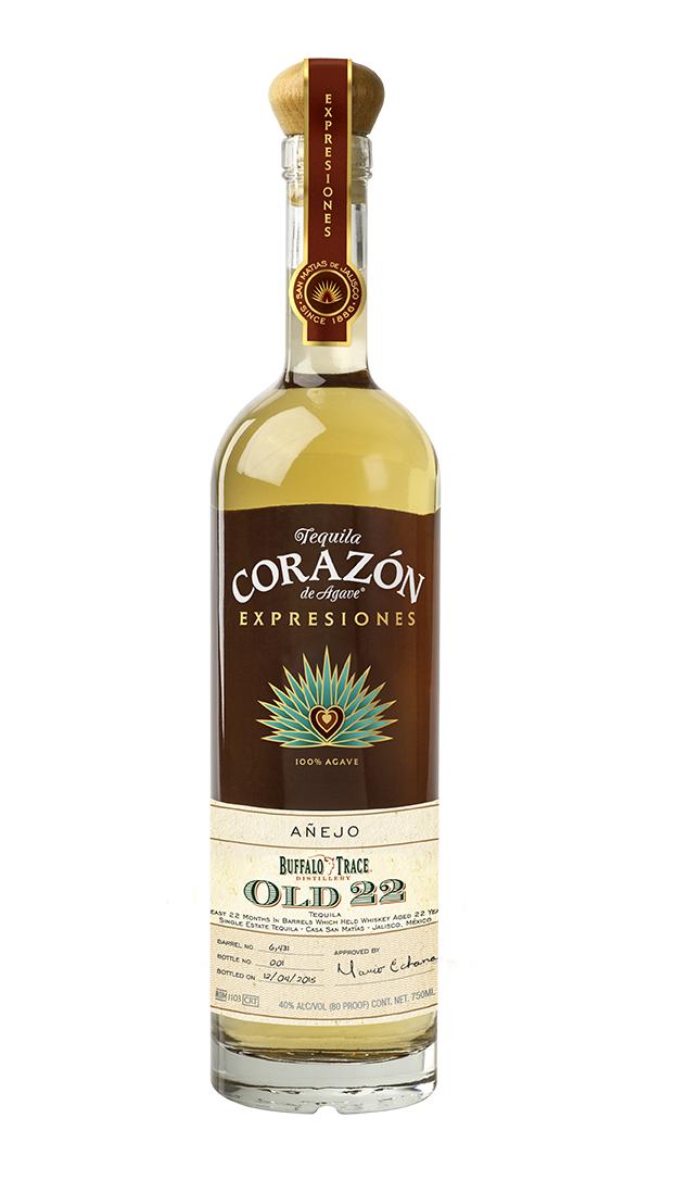Expresiones del Corazon Buffalo Trace Old 22 Anejo