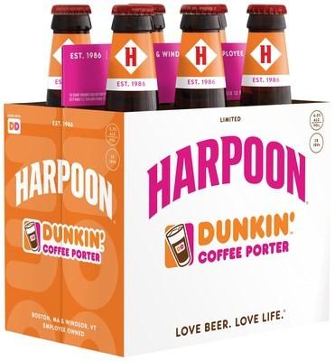 Harpoon Dunkin' Coffee Porter