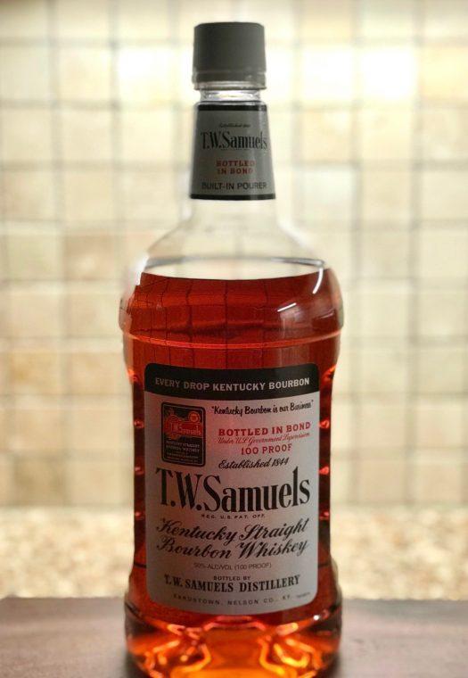 T.W. Samuels Straight Bourbon Bottled in Bond