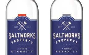 Seaworks Salted Vodka Bottles