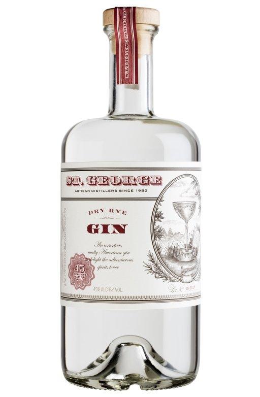 Bottle of St George Spirits Dry Rye Gin