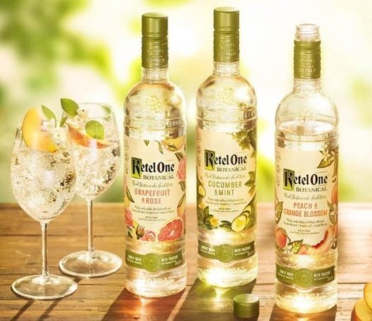 Ketel One Vodkas with Botanicals
