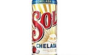 A can of Sol Chelada beer.