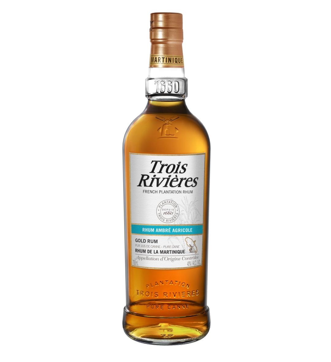 Trois Rivieres Rhum Agricole Ambre Gold Rum