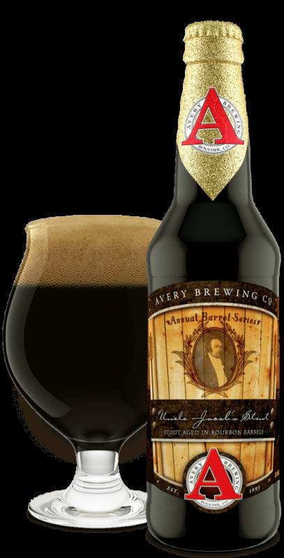 Avery Brewing Uncle Jacob's Bourbon Barrel Stout (2018)