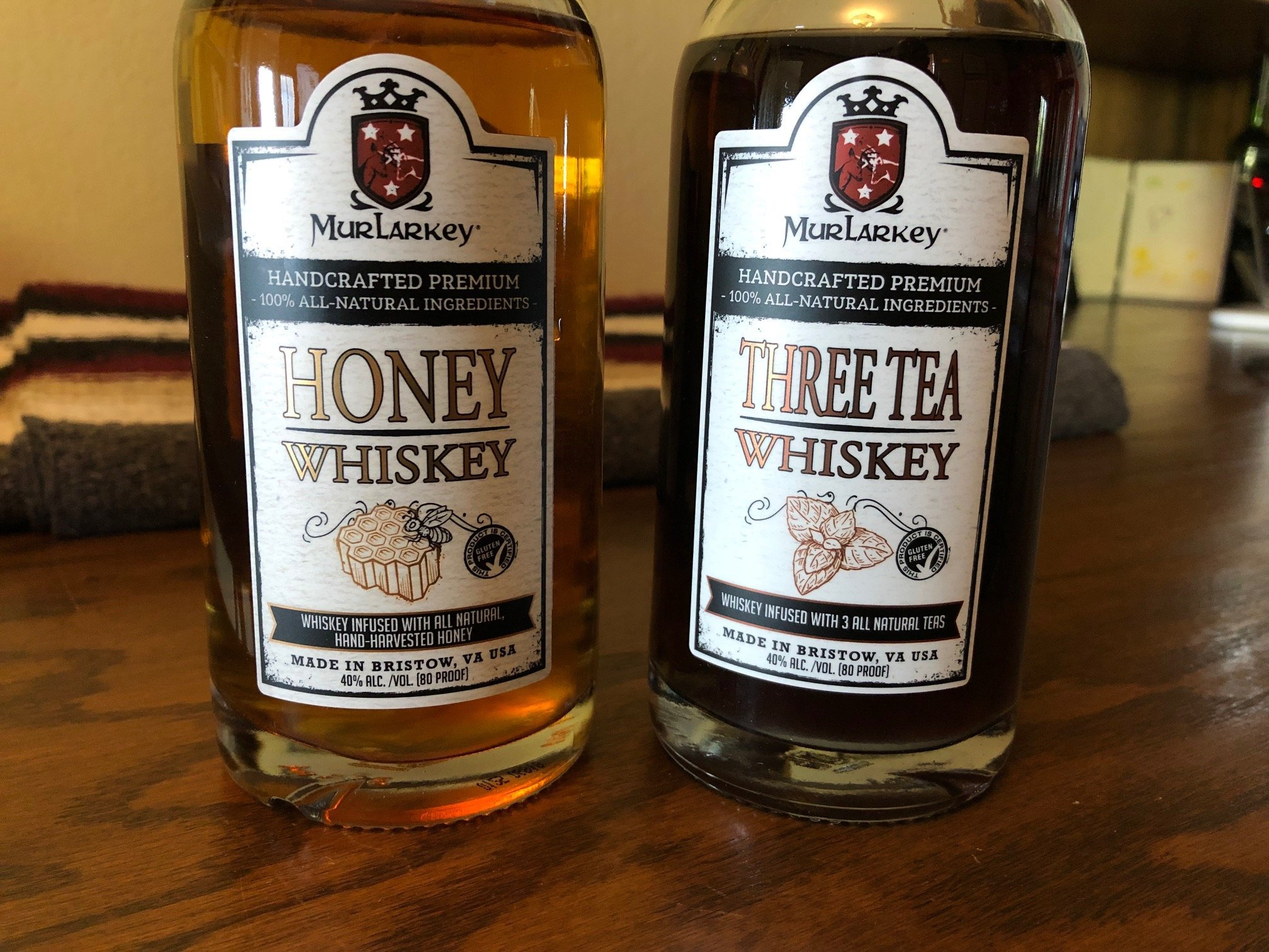 MurLarkey Three Tea Whiskey