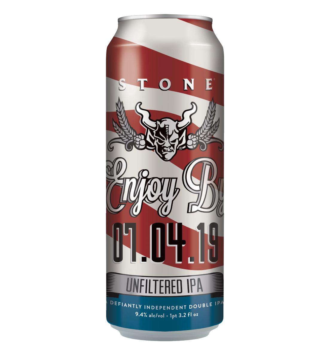 Stone Enjoy By 07.04.19 Unfiltered IPA