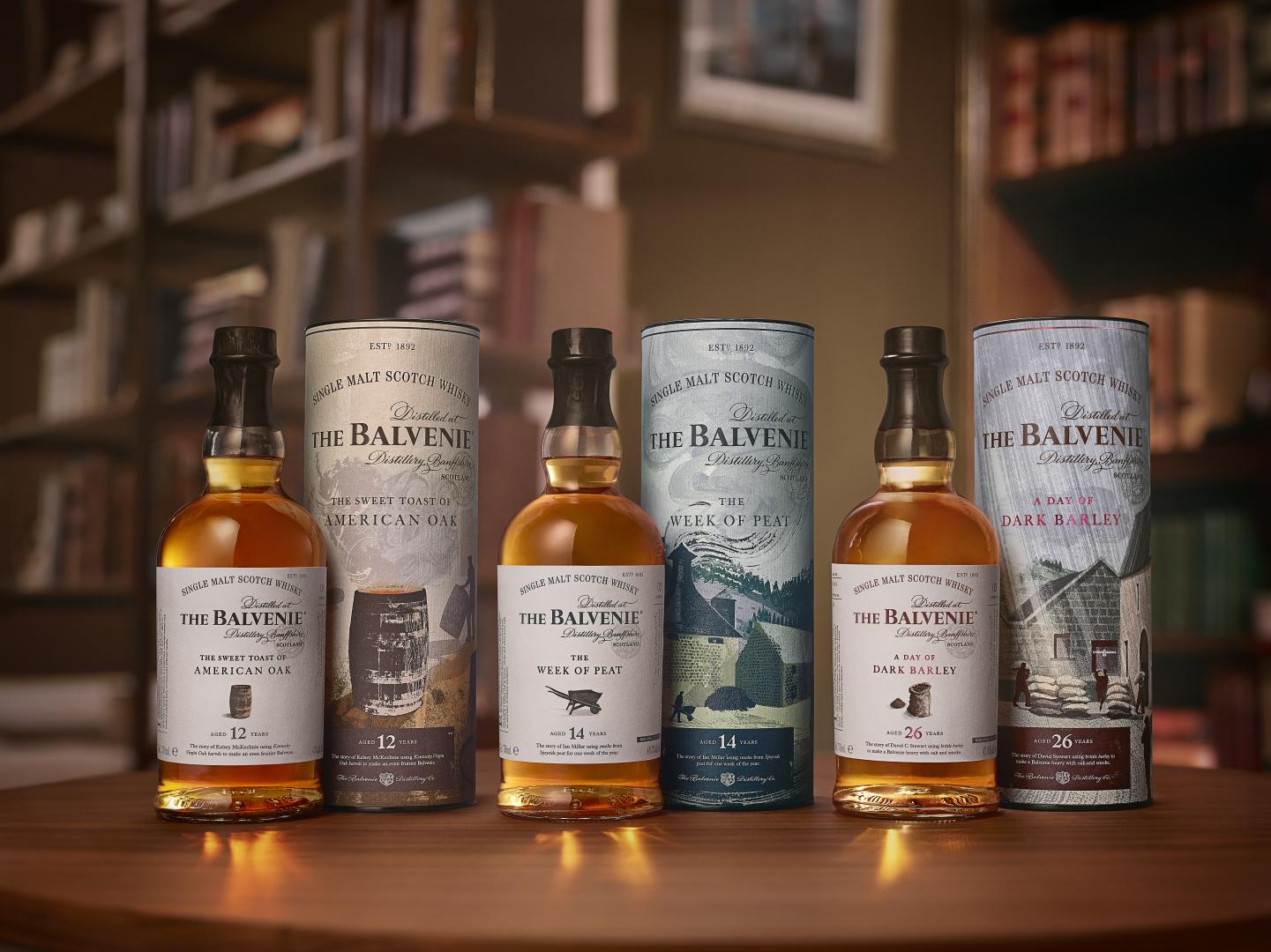 The Balvenie Stories - A Day of Dark Barley 26 Years Old