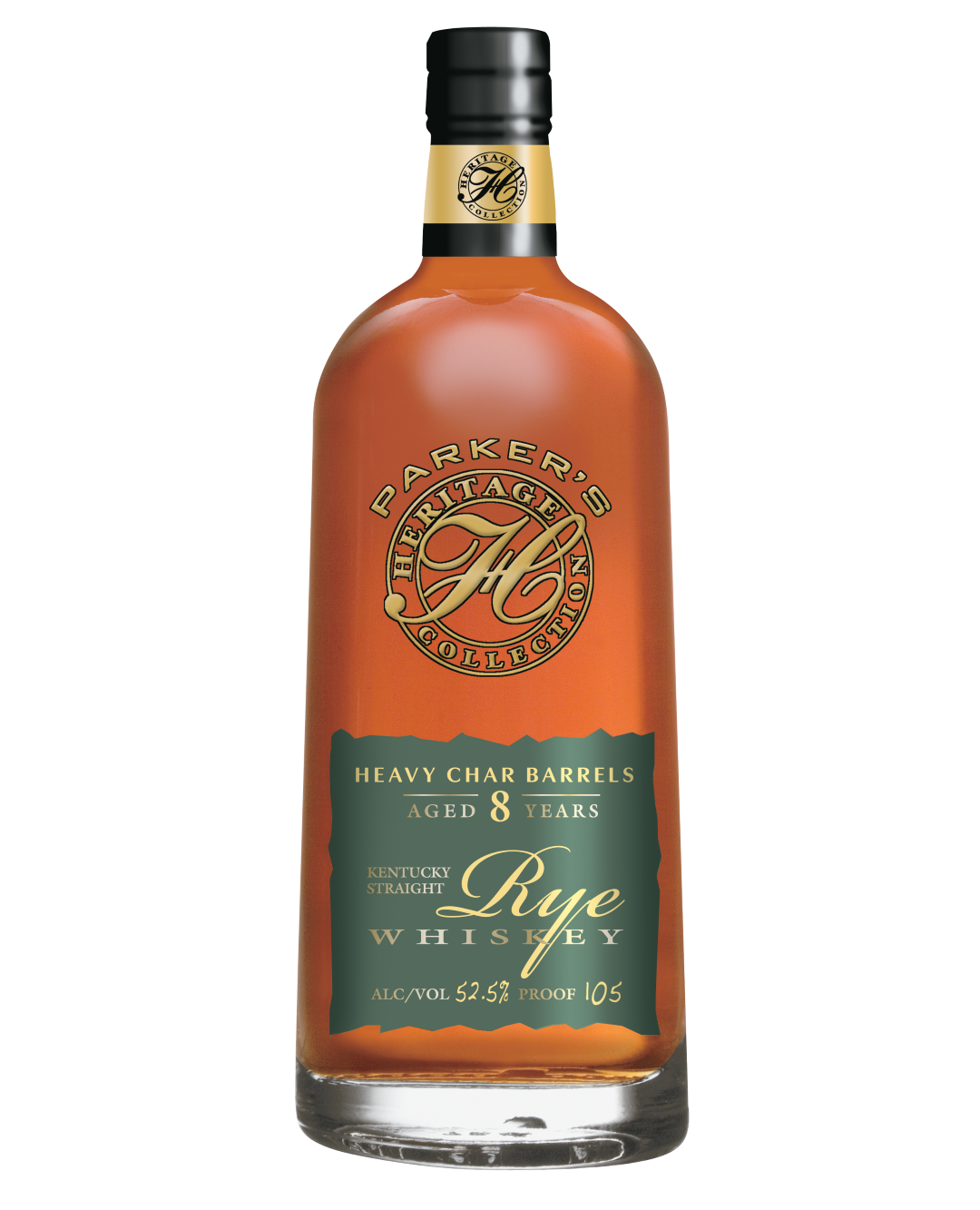 Parker's Heritage Collection Heavy Char Rye Whiskey 8 Years Old (2019)