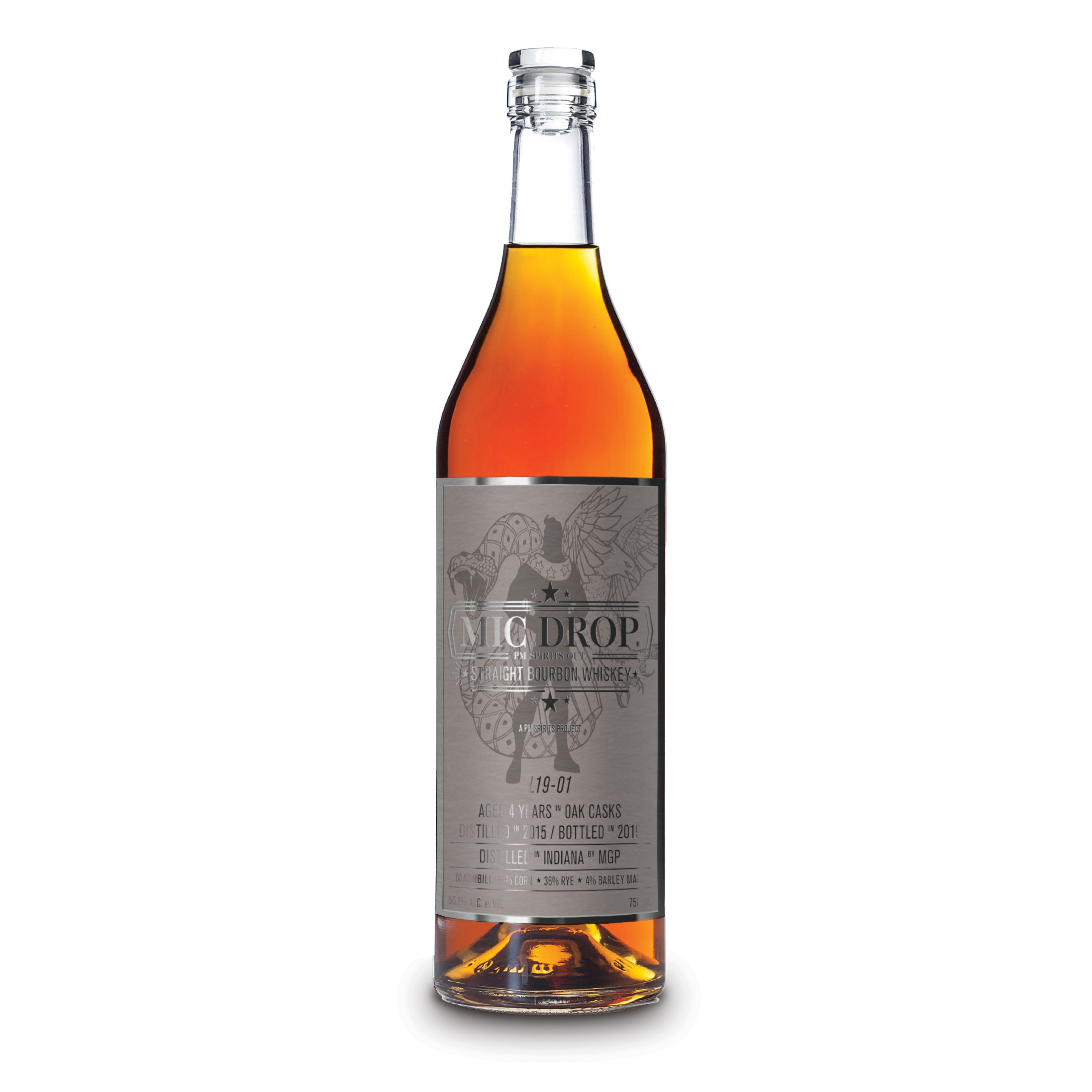 Mic.Drop Bourbon L19-01 4 Years Old