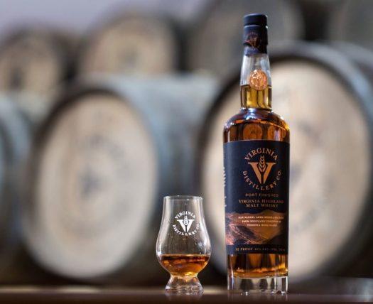 Virginia Distillery Co. Port Cask Finished Virginia-Highland Whisky (2019)