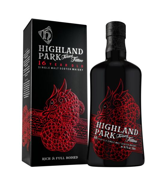 Highland Park Twisted Tattoo 16 Years Old