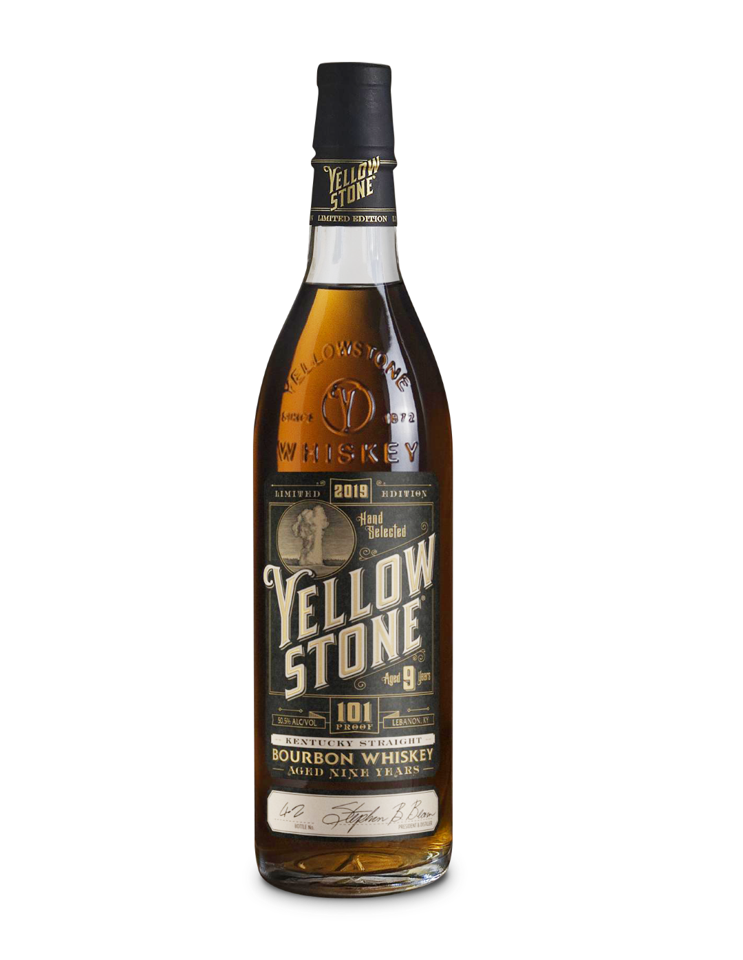 Yellowstone Limited Edition Kentucky Straight Bourbon 2019