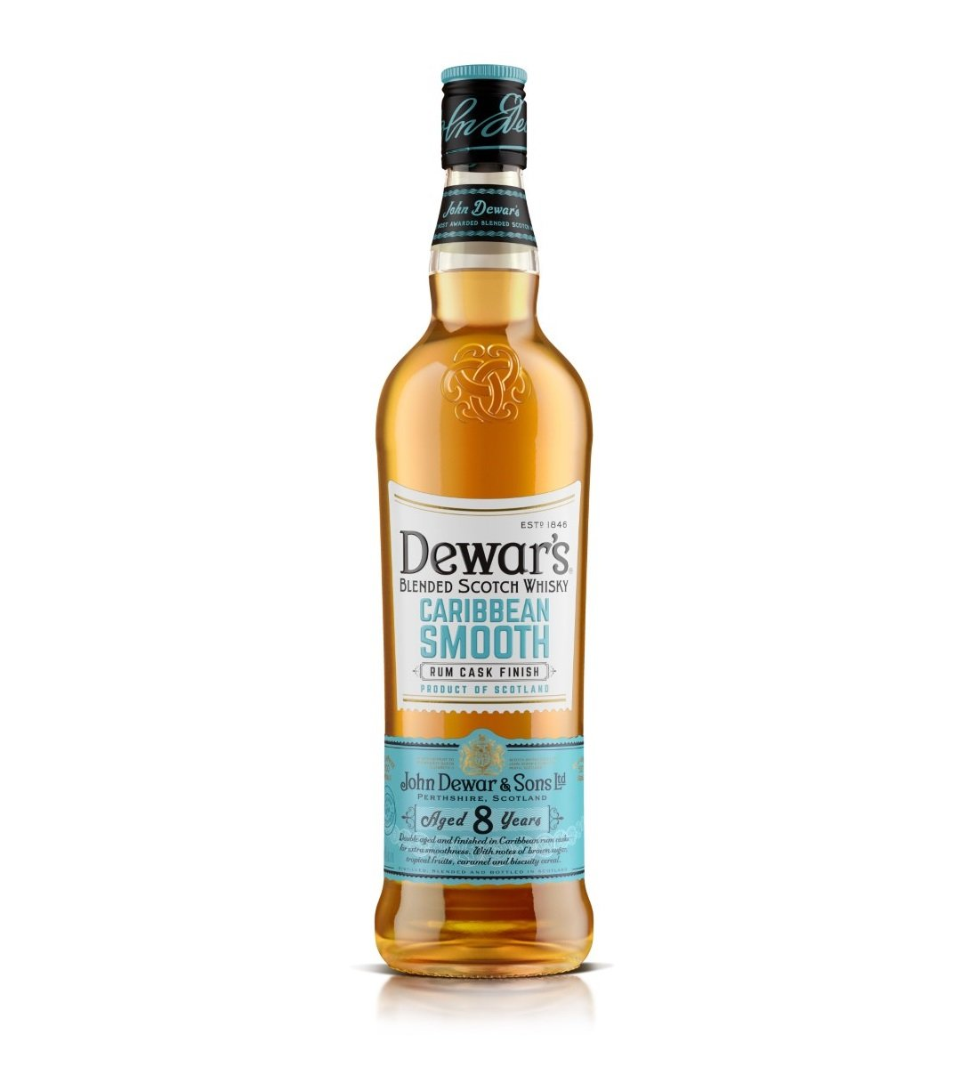 Dewar's Caribbean Smooth Rum Cask Finish 8 Years Old