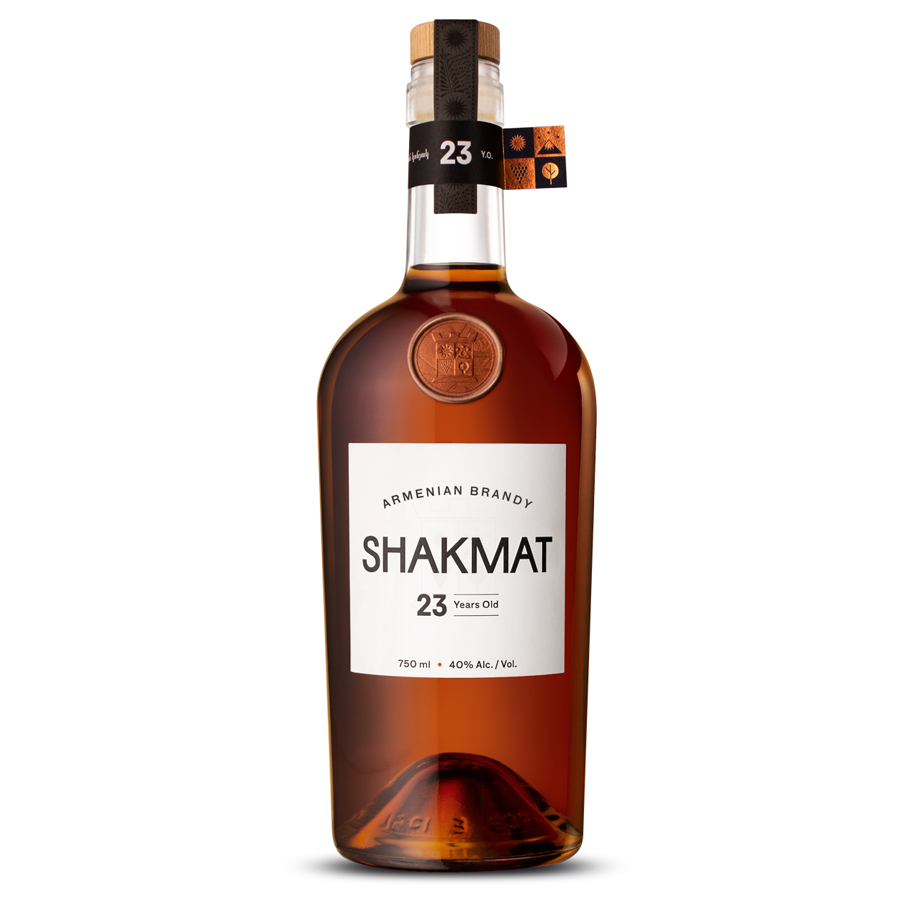 Shakmat Armenian Brandy 23 Years Old