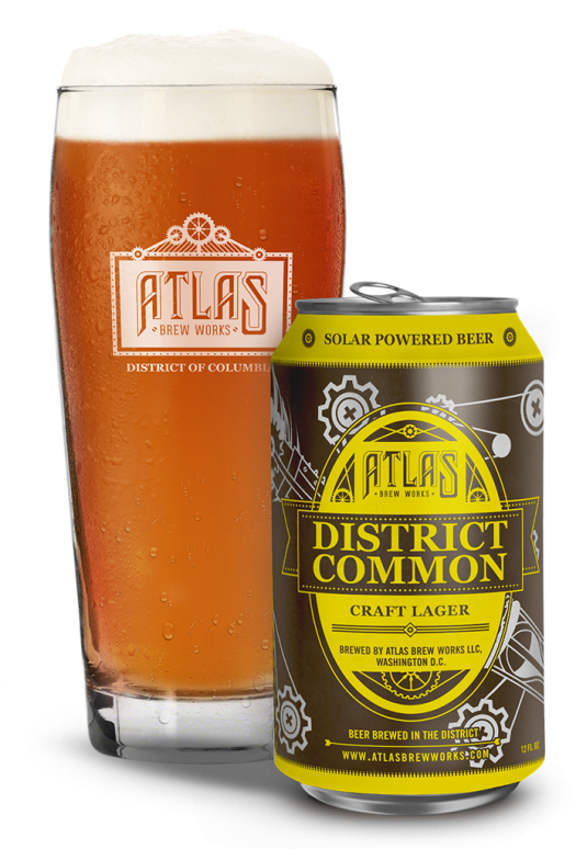 Atlas Brew Works District Common Craft Lager