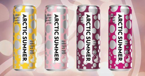 Arctic Summer Raspberry Lime Hard Seltzer
