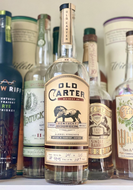 Old Carter Single Barrel Bourbon 12 Years Old