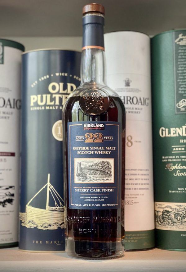Kirkland Speyside Single Malt 22 Years Old Sherry Cask Finish